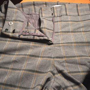 NWOT 22w 22 curvy plaid pants